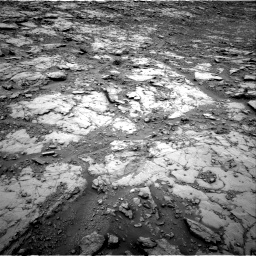 Nasa's Mars rover Curiosity acquired this image using its Right Navigation Camera on Sol 2094, at drive 966, site number 71