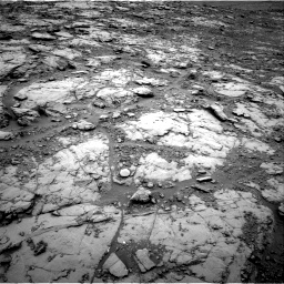 Nasa's Mars rover Curiosity acquired this image using its Right Navigation Camera on Sol 2094, at drive 978, site number 71