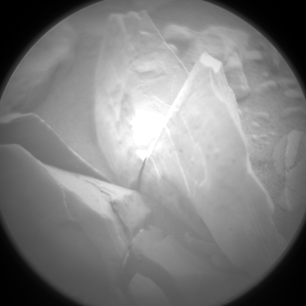 Nasa's Mars rover Curiosity acquired this image using its Chemistry & Camera (ChemCam) on Sol 2095, at drive 996, site number 71