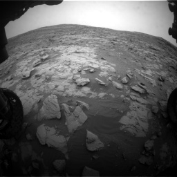 Nasa's Mars rover Curiosity acquired this image using its Front Hazard Avoidance Camera (Front Hazcam) on Sol 2095, at drive 1272, site number 71