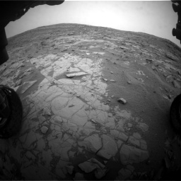 Nasa's Mars rover Curiosity acquired this image using its Front Hazard Avoidance Camera (Front Hazcam) on Sol 2095, at drive 1284, site number 71