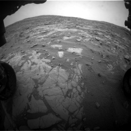 Nasa's Mars rover Curiosity acquired this image using its Front Hazard Avoidance Camera (Front Hazcam) on Sol 2095, at drive 1296, site number 71