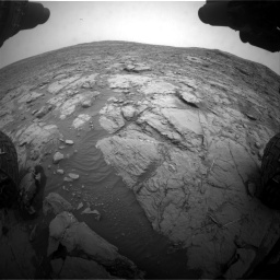 Nasa's Mars rover Curiosity acquired this image using its Front Hazard Avoidance Camera (Front Hazcam) on Sol 2095, at drive 1194, site number 71