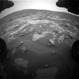 Nasa's Mars rover Curiosity acquired this image using its Front Hazard Avoidance Camera (Front Hazcam) on Sol 2095, at drive 1308, site number 71
