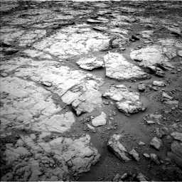 Nasa's Mars rover Curiosity acquired this image using its Left Navigation Camera on Sol 2095, at drive 996, site number 71