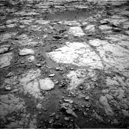 Nasa's Mars rover Curiosity acquired this image using its Left Navigation Camera on Sol 2095, at drive 1008, site number 71