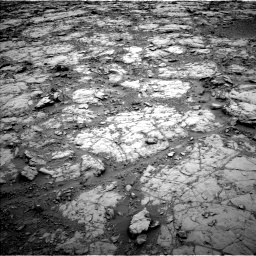 Nasa's Mars rover Curiosity acquired this image using its Left Navigation Camera on Sol 2095, at drive 1038, site number 71