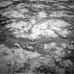 Nasa's Mars rover Curiosity acquired this image using its Left Navigation Camera on Sol 2095, at drive 1122, site number 71