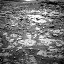 Nasa's Mars rover Curiosity acquired this image using its Left Navigation Camera on Sol 2095, at drive 1224, site number 71