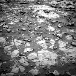 Nasa's Mars rover Curiosity acquired this image using its Left Navigation Camera on Sol 2095, at drive 1236, site number 71