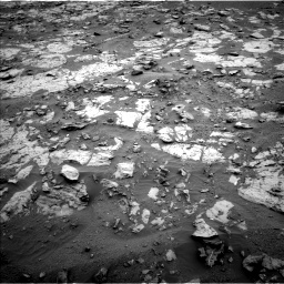Nasa's Mars rover Curiosity acquired this image using its Left Navigation Camera on Sol 2095, at drive 1290, site number 71