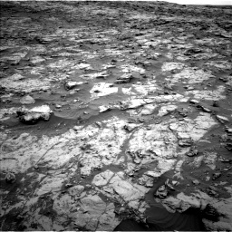 Nasa's Mars rover Curiosity acquired this image using its Left Navigation Camera on Sol 2095, at drive 1320, site number 71