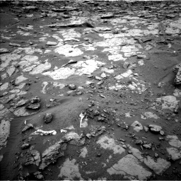 Nasa's Mars rover Curiosity acquired this image using its Left Navigation Camera on Sol 2095, at drive 1330, site number 71