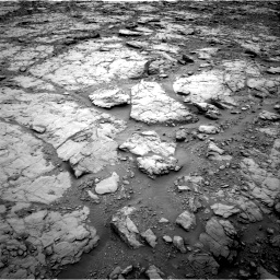 Nasa's Mars rover Curiosity acquired this image using its Right Navigation Camera on Sol 2095, at drive 996, site number 71