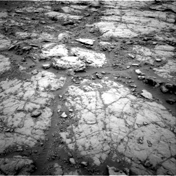 Nasa's Mars rover Curiosity acquired this image using its Right Navigation Camera on Sol 2095, at drive 1068, site number 71