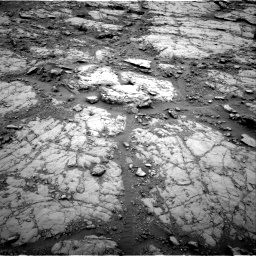 Nasa's Mars rover Curiosity acquired this image using its Right Navigation Camera on Sol 2095, at drive 1074, site number 71