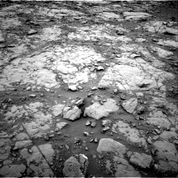 Nasa's Mars rover Curiosity acquired this image using its Right Navigation Camera on Sol 2095, at drive 1116, site number 71