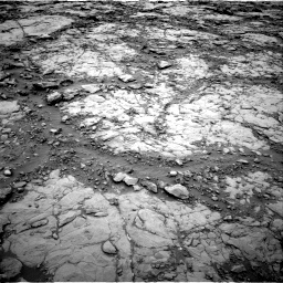 Nasa's Mars rover Curiosity acquired this image using its Right Navigation Camera on Sol 2095, at drive 1128, site number 71