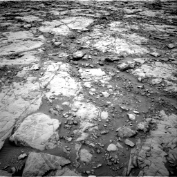 Nasa's Mars rover Curiosity acquired this image using its Right Navigation Camera on Sol 2095, at drive 1140, site number 71