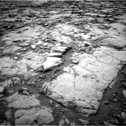 Nasa's Mars rover Curiosity acquired this image using its Right Navigation Camera on Sol 2095, at drive 1176, site number 71