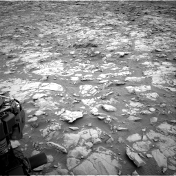 Nasa's Mars rover Curiosity acquired this image using its Right Navigation Camera on Sol 2095, at drive 1236, site number 71