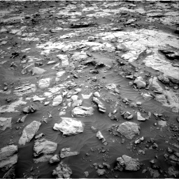 Nasa's Mars rover Curiosity acquired this image using its Right Navigation Camera on Sol 2095, at drive 1260, site number 71
