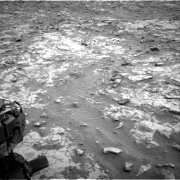 Nasa's Mars rover Curiosity acquired this image using its Right Navigation Camera on Sol 2095, at drive 1296, site number 71