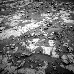 Nasa's Mars rover Curiosity acquired this image using its Right Navigation Camera on Sol 2095, at drive 1308, site number 71
