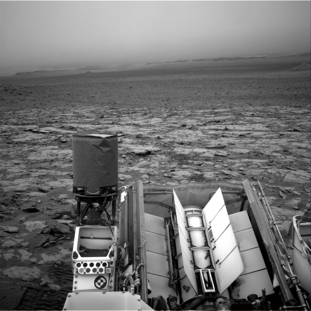 Nasa's Mars rover Curiosity acquired this image using its Right Navigation Camera on Sol 2095, at drive 1330, site number 71