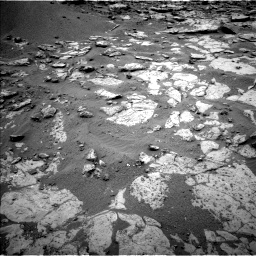 Nasa's Mars rover Curiosity acquired this image using its Left Navigation Camera on Sol 2098, at drive 1342, site number 71