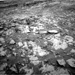 Nasa's Mars rover Curiosity acquired this image using its Left Navigation Camera on Sol 2098, at drive 1408, site number 71