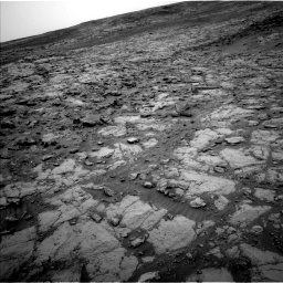 Nasa's Mars rover Curiosity acquired this image using its Left Navigation Camera on Sol 2098, at drive 1486, site number 71