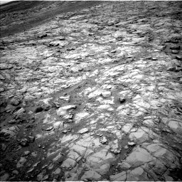 Nasa's Mars rover Curiosity acquired this image using its Left Navigation Camera on Sol 2098, at drive 1534, site number 71