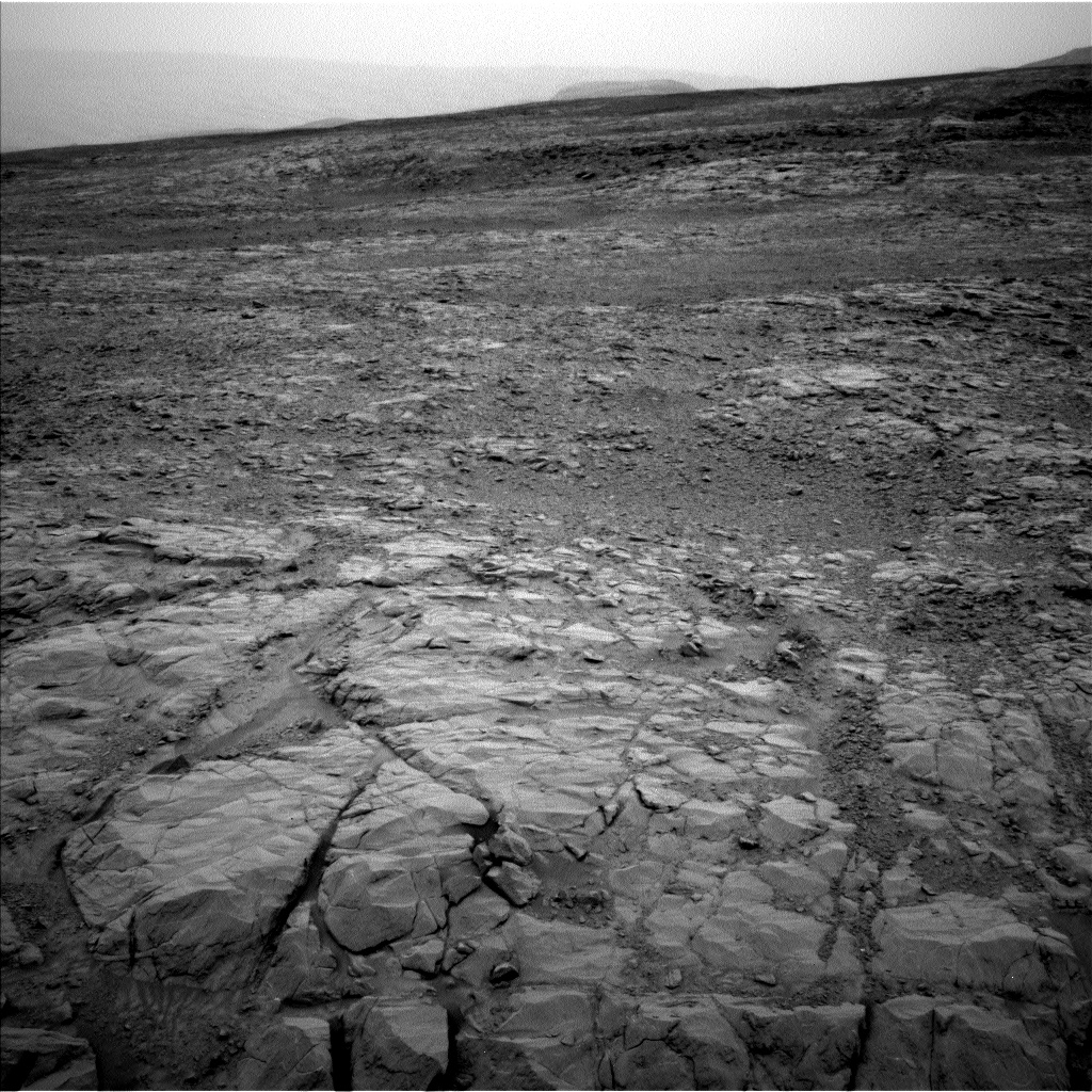 Nasa's Mars rover Curiosity acquired this image using its Left Navigation Camera on Sol 2098, at drive 1558, site number 71
