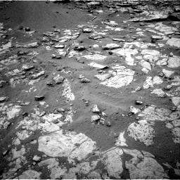 Nasa's Mars rover Curiosity acquired this image using its Right Navigation Camera on Sol 2098, at drive 1348, site number 71
