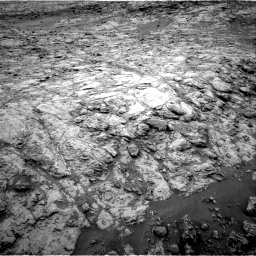 Nasa's Mars rover Curiosity acquired this image using its Right Navigation Camera on Sol 2098, at drive 1438, site number 71
