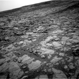 Nasa's Mars rover Curiosity acquired this image using its Right Navigation Camera on Sol 2098, at drive 1486, site number 71