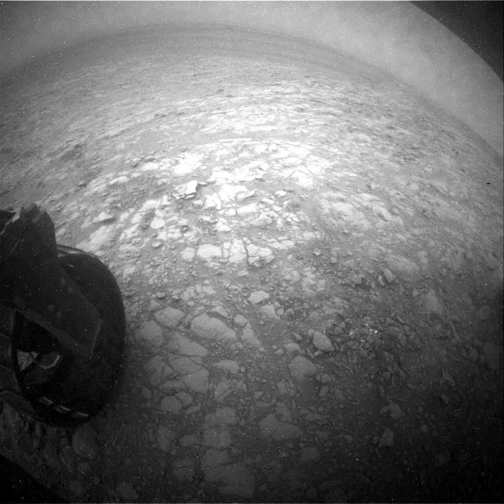 NASA's Mars rover Curiosity acquired this image using its Rear Hazard Avoidance Cameras (Rear Hazcams) on Sol 2098