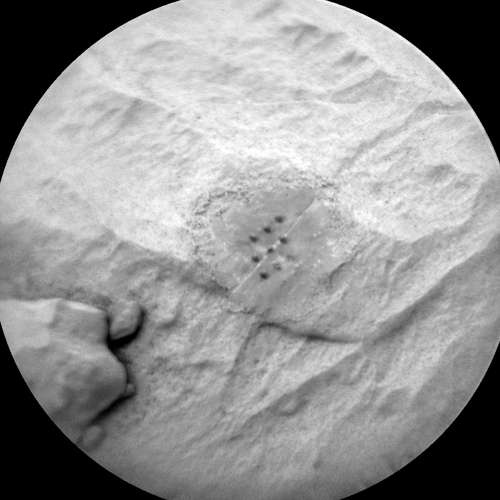 Nasa's Mars rover Curiosity acquired this image using its Chemistry & Camera (ChemCam) on Sol 2099, at drive 1586, site number 71