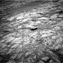 Nasa's Mars rover Curiosity acquired this image using its Left Navigation Camera on Sol 2102, at drive 1646, site number 71