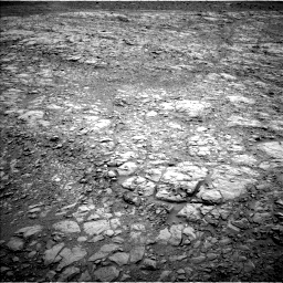 Nasa's Mars rover Curiosity acquired this image using its Left Navigation Camera on Sol 2102, at drive 1754, site number 71