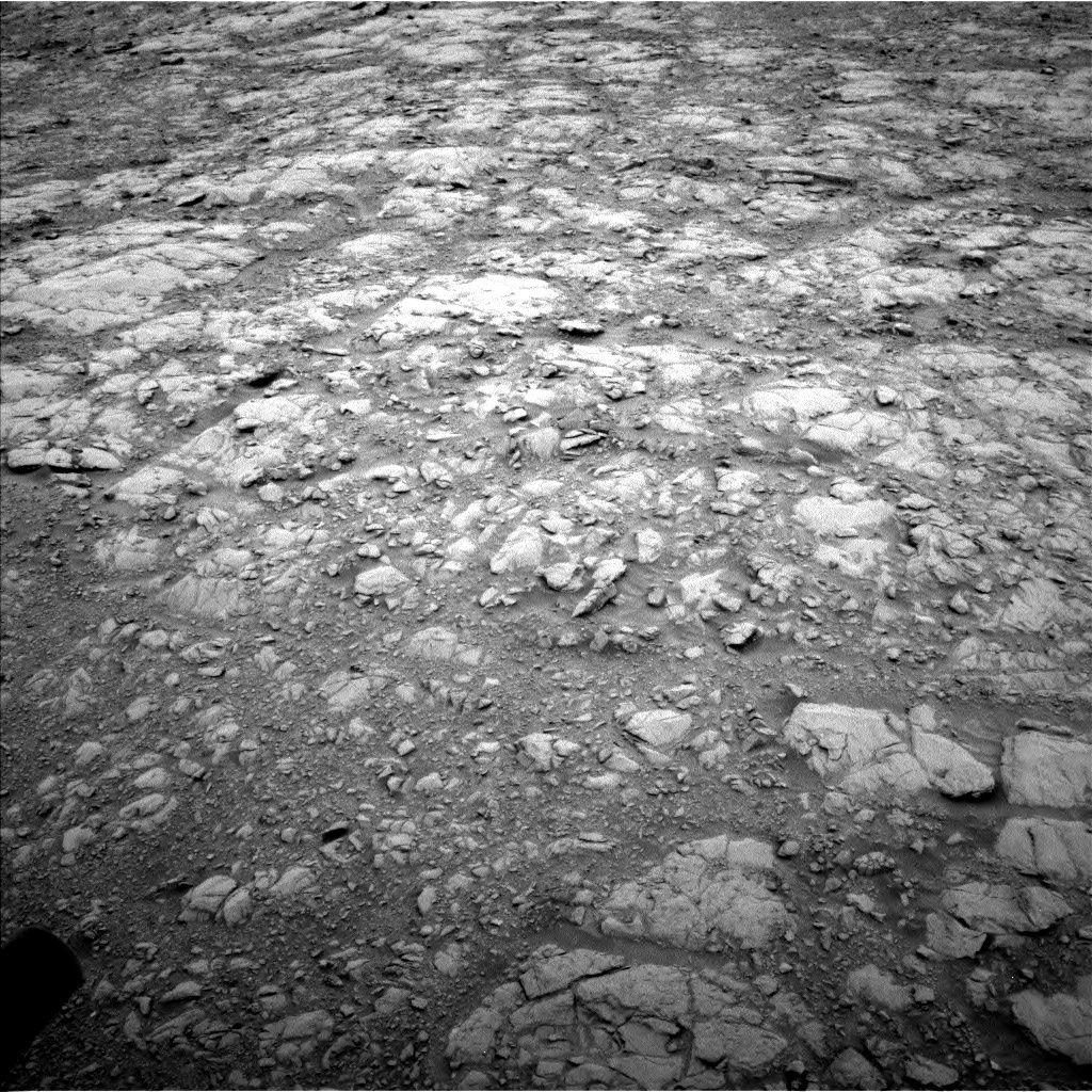 Nasa's Mars rover Curiosity acquired this image using its Left Navigation Camera on Sol 2102, at drive 1760, site number 71