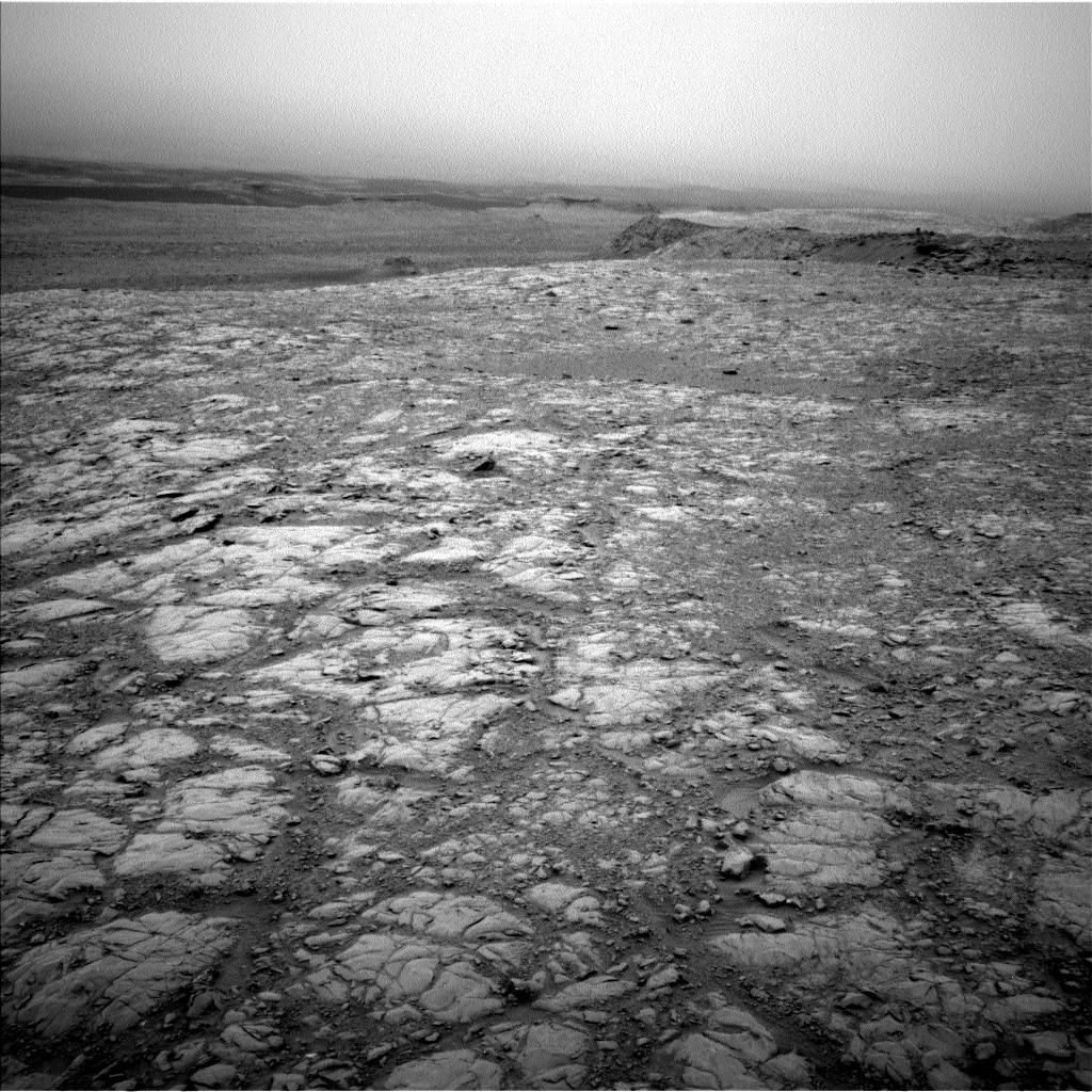 Nasa's Mars rover Curiosity acquired this image using its Left Navigation Camera on Sol 2102, at drive 1818, site number 71