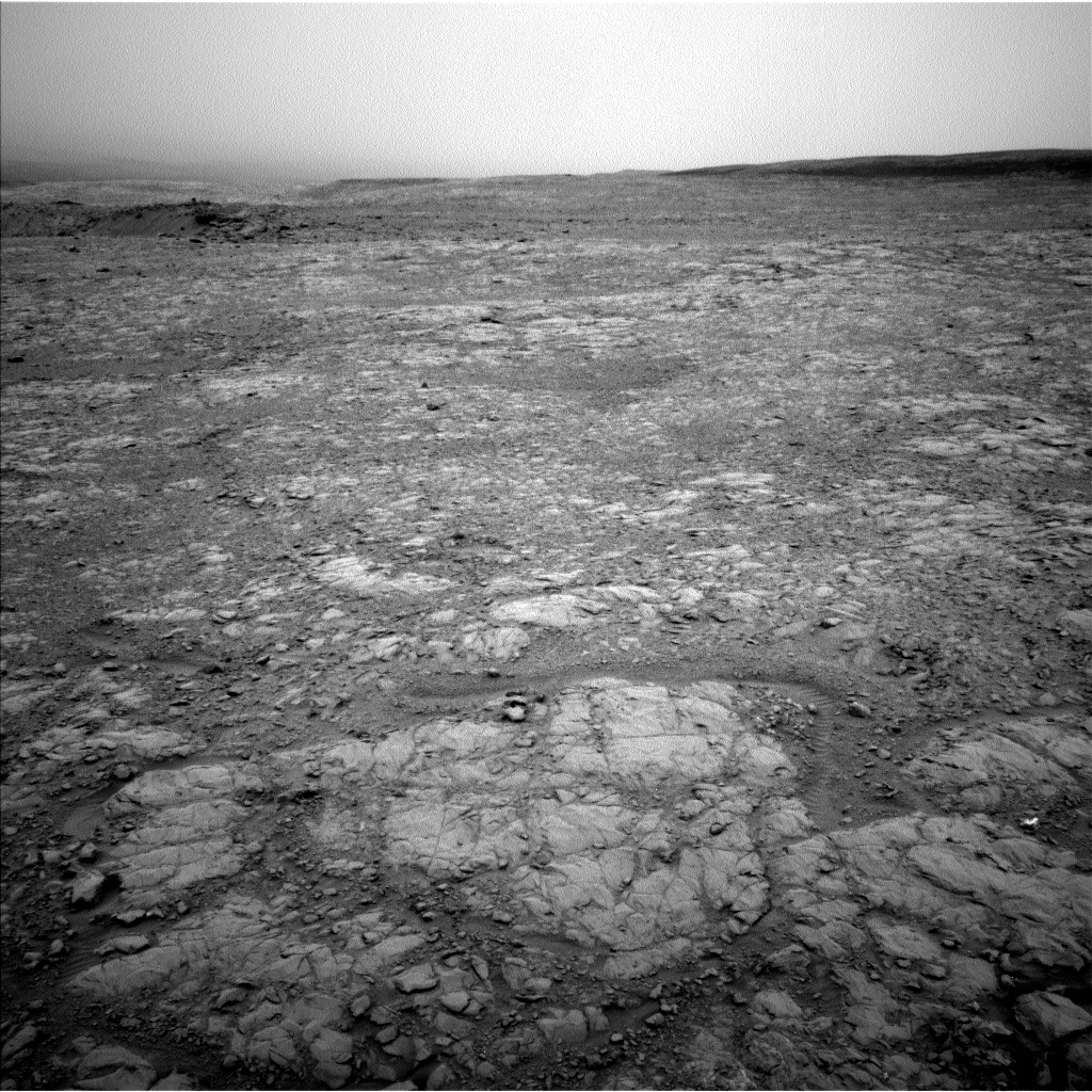 NASA's Mars rover Curiosity acquired this image using its Left Navigation Camera (Navcams) on Sol 2102
