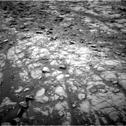 Nasa's Mars rover Curiosity acquired this image using its Right Navigation Camera on Sol 2102, at drive 1598, site number 71