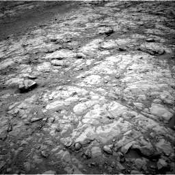 Nasa's Mars rover Curiosity acquired this image using its Right Navigation Camera on Sol 2102, at drive 1640, site number 71