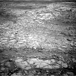 Nasa's Mars rover Curiosity acquired this image using its Right Navigation Camera on Sol 2102, at drive 1802, site number 71