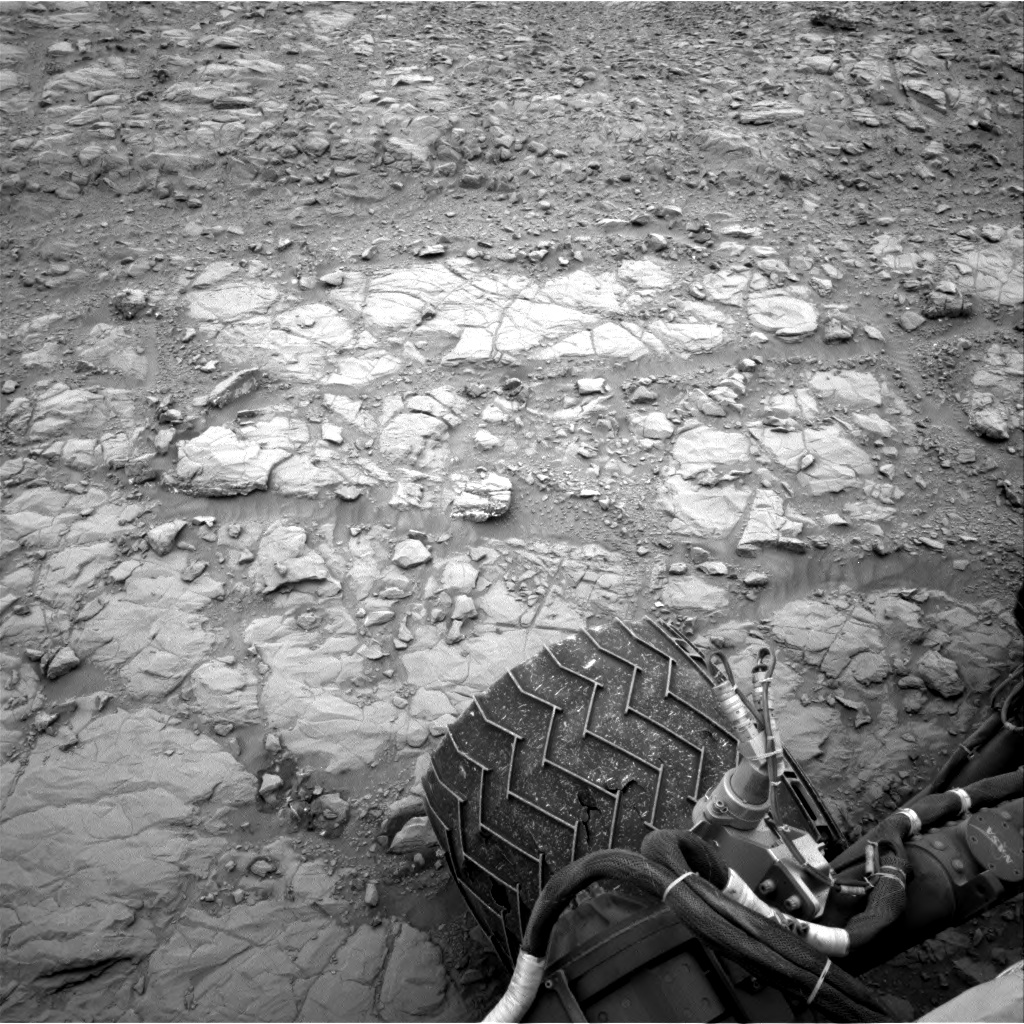 Nasa's Mars rover Curiosity acquired this image using its Right Navigation Camera on Sol 2103, at drive 1818, site number 71