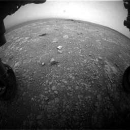 Nasa's Mars rover Curiosity acquired this image using its Front Hazard Avoidance Camera (Front Hazcam) on Sol 2104, at drive 2154, site number 71