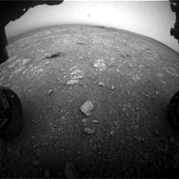 Nasa's Mars rover Curiosity acquired this image using its Front Hazard Avoidance Camera (Front Hazcam) on Sol 2104, at drive 2166, site number 71
